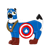 Flurr as Capitan America