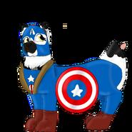 Flurr as Capitan America