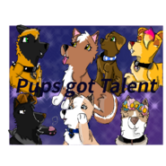 Pups got Talent tittle card