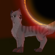 Cinder and solar eclipse