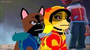 Martine i Dilara zżenowane nieudaną akcją Killena i Zorro