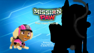 Mission Paw Pups save Tracker tittle card