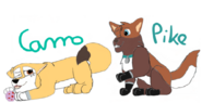 Camo and Pike Paw patrol