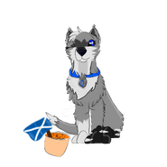 Seitarou Sakura with nachos and flag of Scotland in it Scotland trip special 2019