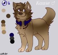 Kause character sheet