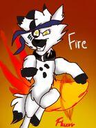 Flurr bend fire