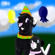 Werix and Inga celebrating Werix s birthday Everestiskay12 s birthday special