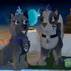 Ray and Eyra celebraring Ray's birthday birthday special