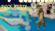 Pool Party Tittle card