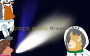 Space pups armagedon title card