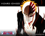 Vizard Ichigo Wallpaper by gohbiscuit