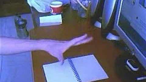 Telekinesis Flip Book Page- 31 07 2007