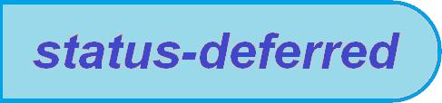 Status Deferred
