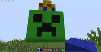 Creeper king head