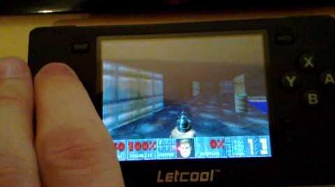 DOOM SPMP8000 on Letcool N350JP