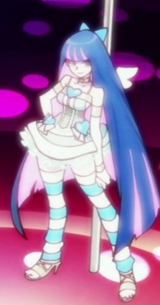 Panty /& Stocking with Garterbelt Anarchy Stocking Dress
