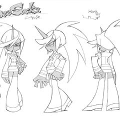 Kneesocks' final design.