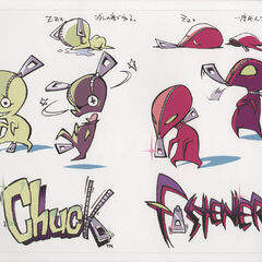 Chuck and Fastener concept art.