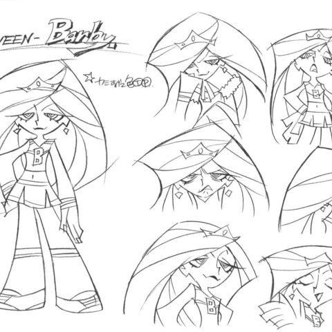 Barby's design sheet.