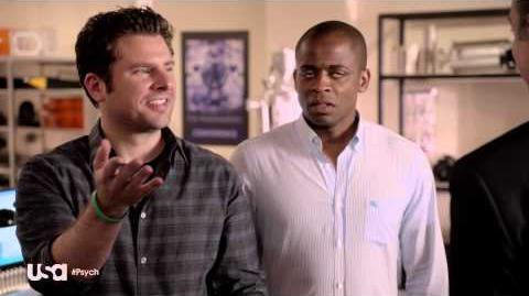 """Psych, Season 8, Eps 8 - """"A Touch of Sweevil,"""" Psych-Out"""