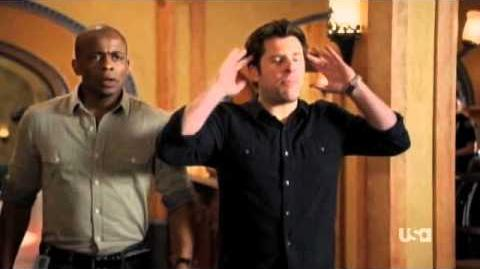 Psych Season 6 - The Amazing Psych-Man & Tap Man, Clip 3
