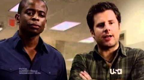 "Psych on USA Network - ""One, Maybe Two Ways Out"" 9 8 SUMMER FINALE Promo"