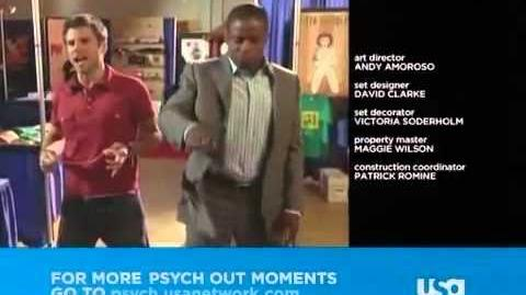 Psych Out-Shawn VS The Red Phantom (S01E08)