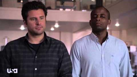 """Psych, Season 8, Eps 8 - """"A Touch of Sweevil,"""" Ghost Whisperer"""