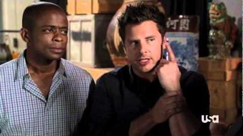 Psych New Episodes - Indiana Shawn and the Temple of the Kinda Crappy Rusty Old Dagger, Clip 2
