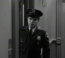 Psycho police hallway