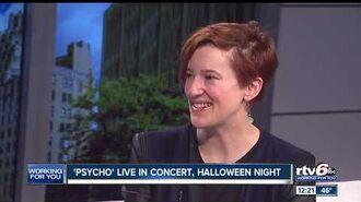 'Psycho' live in concert, Halloween night