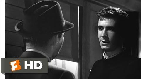 Psycho (9 12) Movie CLIP - I'm Not Capable of Being Fooled (1960) HD