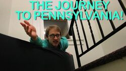 THE JOURNEY TO PENNSYLVANIA!