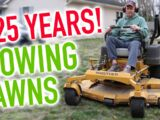 Dad Shuts Down 25-Year Landscaping Business