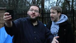 BOOGIE2988 IS CAMPING OUTSIDE MCJUGGERNUGGETS HOUSE!