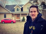 Jesse At the new home