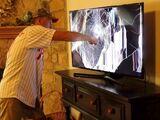 PSYCHO DAD SMASHES TV! *LOGAN PAUL VS KSI*