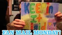FAN MAIL MONDAY -15 -- KEEP IT RIDGID