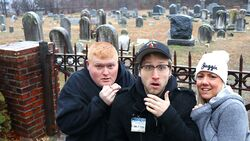 WE'RE BUYING AN OFFICE IN A GRAVEYARD!