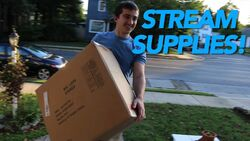 GATHERING STREAM SUPPLIES!