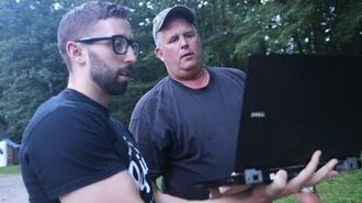 Psycho Dad Axes Laptop (Role Reversal)