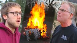 Psycho Dad Torches Christmas Presents