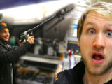 BRIAN ALMOST KILLS ME WITH A NAIL GUN!