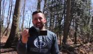 Jeff being filmed