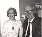 Sheila and John Maynard Smith