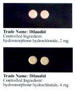 Hydromorphone dilaudid