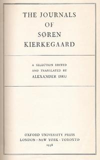 Cover journals kierkegaard