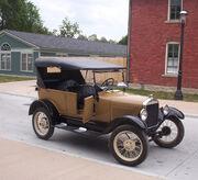 Late model Ford Model T