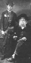 Walt Whitman and Bill Duckett