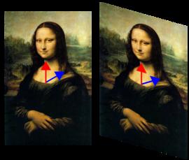 Mona Lisa with eigenvector